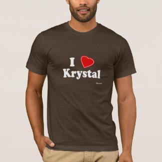 I Love Krystal T-Shirt
