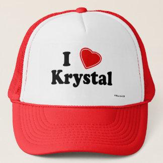 I Love Krystal Trucker Hat