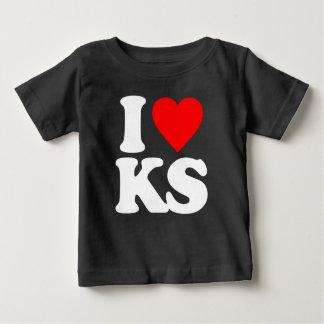 I LOVE KS BABY T-Shirt