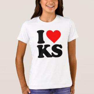 I LOVE KS T-Shirt