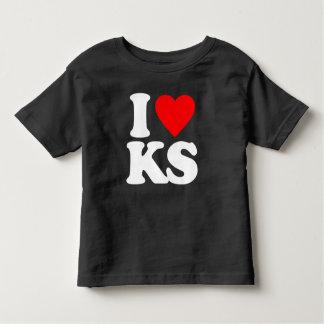 I LOVE KS TODDLER T-SHIRT
