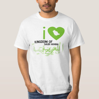 I LOVE KSA -EEZ T-SHIRT