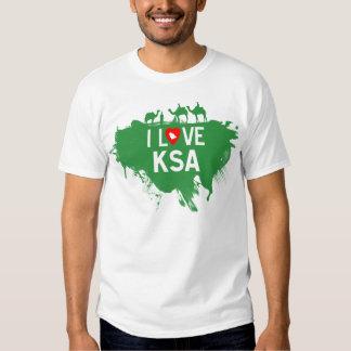 I LOVE KSA TEEZ SHIRT