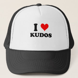 I Love Kudos Trucker Hat