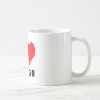 I Love Kumdo Design Coffee Mug