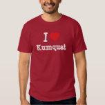 I love Kumquat heart T-Shirt