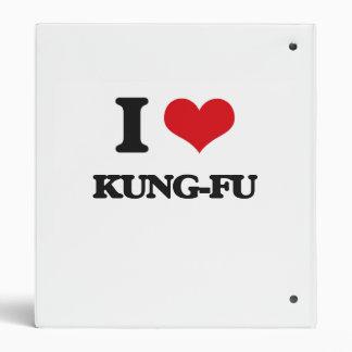 I Love Kung-Fu Binders