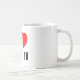 I Love Kung Fu Classic White Coffee Mug