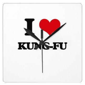 I Love Kung-Fu Wall Clock
