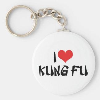 I Love Kung Fu Keychain