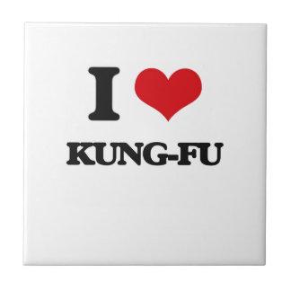 I Love Kung-Fu Ceramic Tile