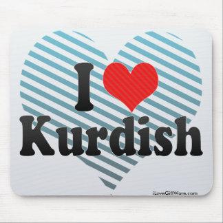 I Love Kurdish Mouse Pad