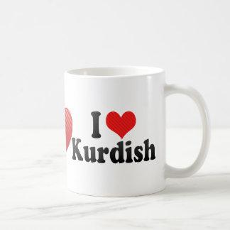 I Love Kurdish Classic White Coffee Mug