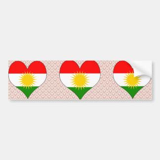 I Love Kurdistan Bumper Sticker