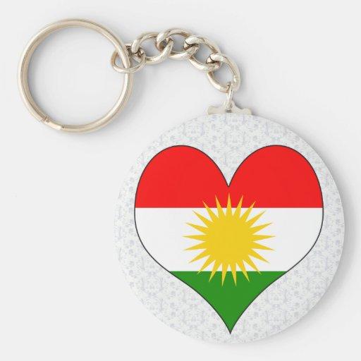 I Love Kurdistan Key Chains