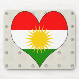 I Love Kurdistan Mouse Pad