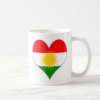 I Love Kurdistan Classic White Coffee Mug