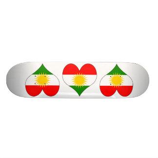 I Love Kurdistan Skateboard Decks