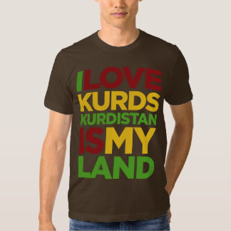 I love Kurds & Kurdistan Tee Shirt
