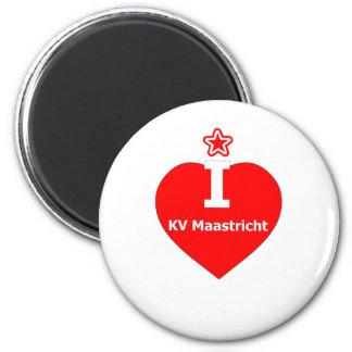 I love KV Maastricht logo 2 Koelkast Magneetjes