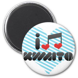 I Love Kwaito Fridge Magnets