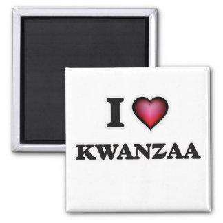 I Love Kwanzaa Magnet