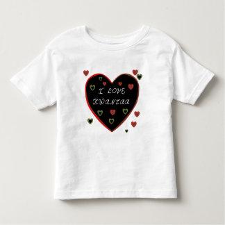 I Love Kwanzaa Toddler T-shirt