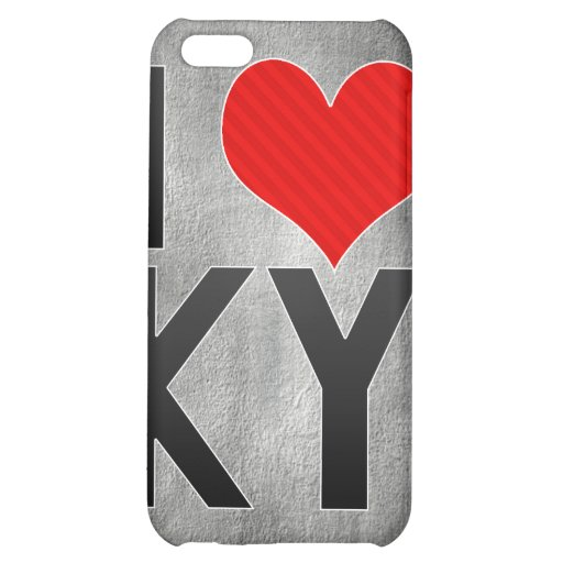I Love KY iPhone 5C Covers