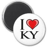 I Love KY - Kentucky Magnet