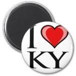 I Love KY - Kentucky Refrigerator Magnets