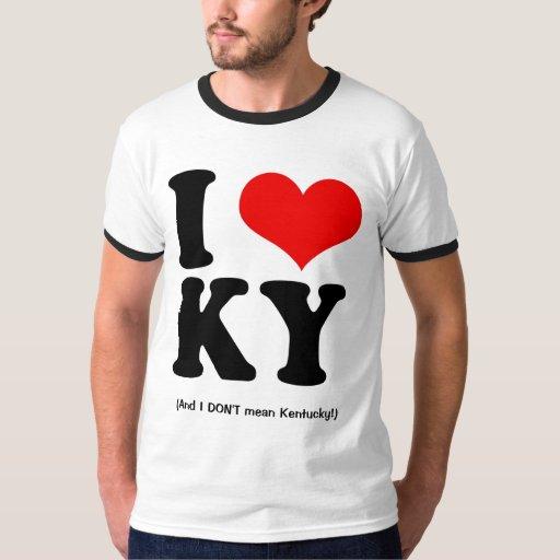I Love KY T Shirt