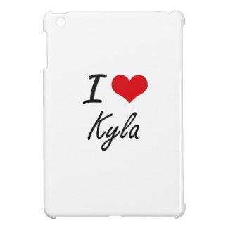 I Love Kyla artistic design Case For The iPad Mini
