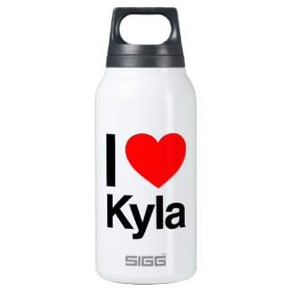 i love kyla 10 oz insulated SIGG thermos water bottle
