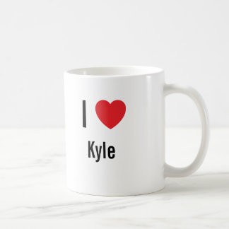 I love Kyle Coffee Mug