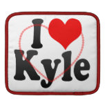 I love Kyle iPad Sleeve