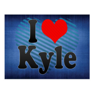 I Love Kyle, United States Postcard