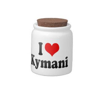 I love Kymani Candy Dish