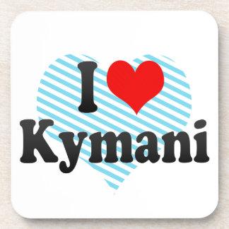 I love Kymani Drink Coaster