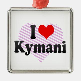 I love Kymani Christmas Ornament