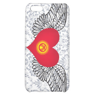 I Love Kyrgyzstan -wings Case For iPhone 5C