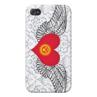 I Love Kyrgyzstan -wings iPhone 4 Case