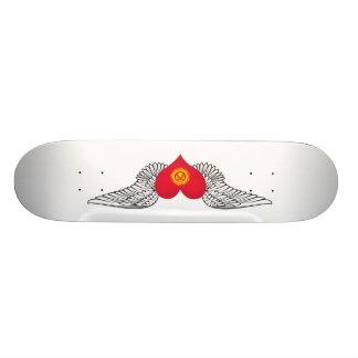 I Love Kyrgyzstan -wings Skate Boards