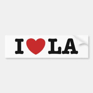 I Love LA Bumper Sticker