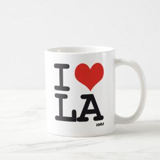 I love LA Classic White Coffee Mug