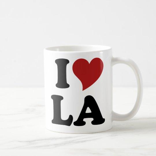 I Love LA Coffee Mug