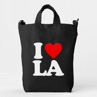 I LOVE LA DUCK BAG