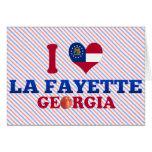 I Love La Fayette, Georgia Cards