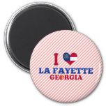 I Love La Fayette, Georgia Fridge Magnet