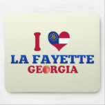 I Love La Fayette, Georgia Mouse Pads