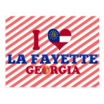 I Love La Fayette, Georgia Postcard